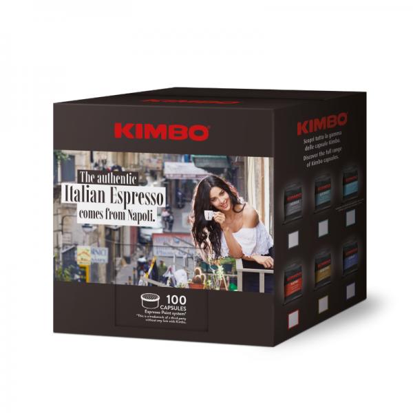 Kimbo espreso kaspule